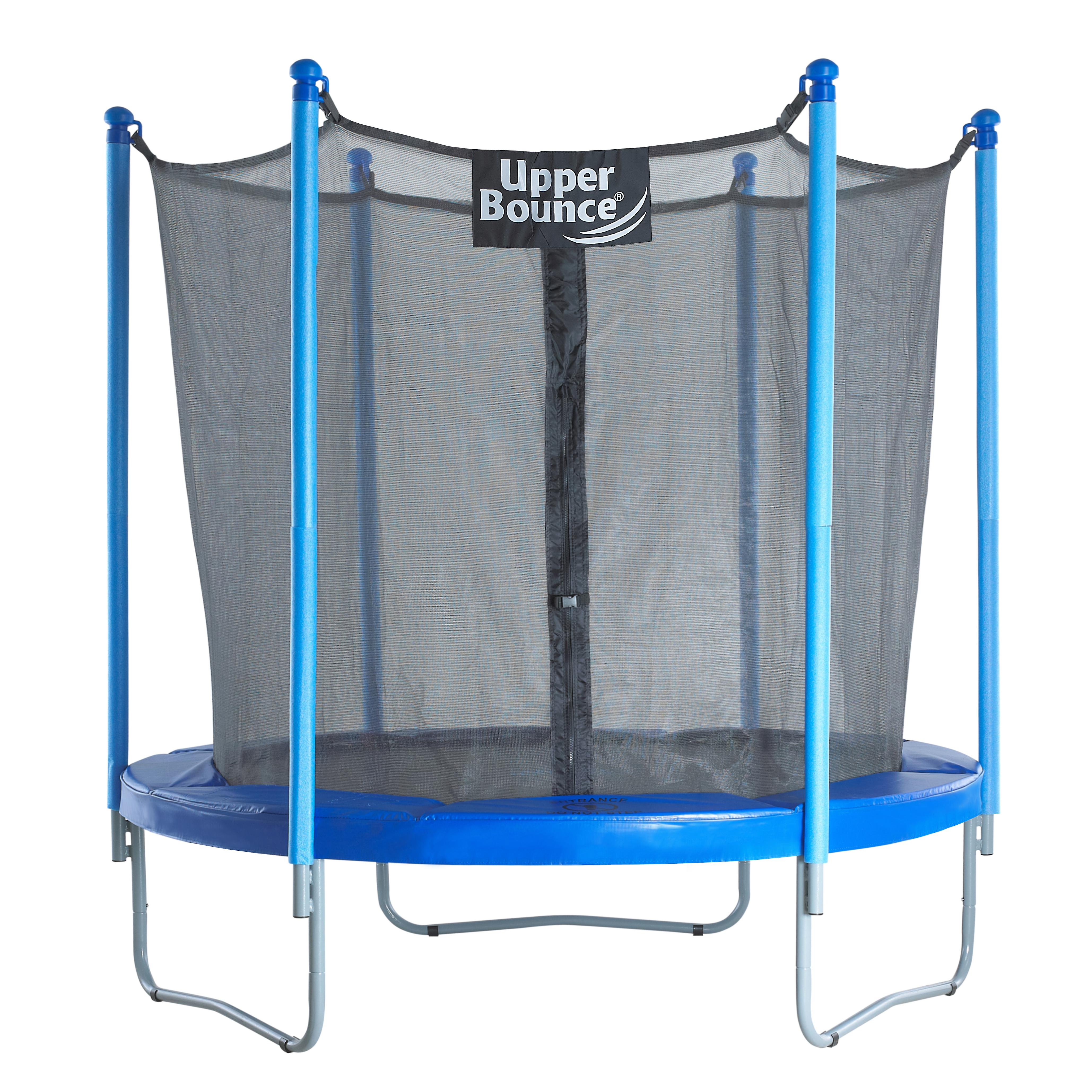Upper Bounce® 7.5 FT. Trampoline & Enclosure Set equipped with the New