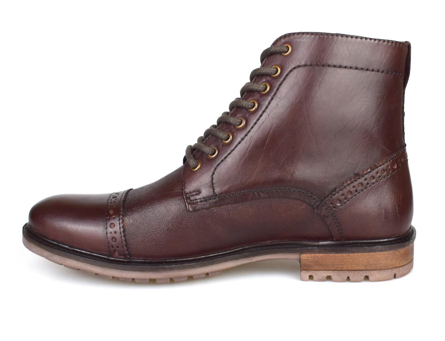 8e1d57b87a9 Silver Street Monmouth Oxblood Leather Mens Formal Boots