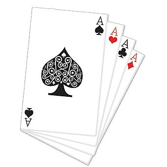 Hand of Cards Cardboard Cutout