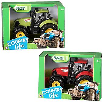Friction Tractor Country Life Toy Model