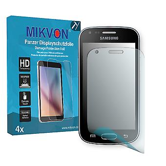 Samsung GT-S7580 Screen Protector - Mikvon Armor Screen Protector (Retail Package with accessories)