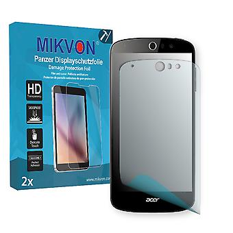 Acer Liquid Z530 Screen Protector - Mikvon Armor Screen Protector (Retail Package with accessories)