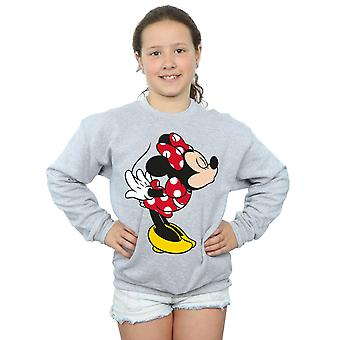 Chicas de Disney Minnie Mouse Split sudadera Kiss