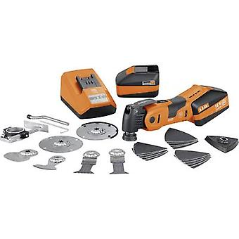 Cordless multifunction tool incl. spare battery, incl. accessories, incl. case 27-piece