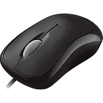 USB mouse Optical Microsoft Basic Optical Mouse Black