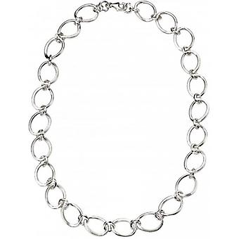 Beginnings Oval Linked Necklace - Silver