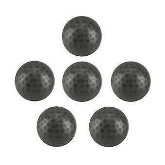 6 piece zabytkowe srebrne wykończenie wnętrz metalowe dołeczkami piłkę zestaw 3 cale