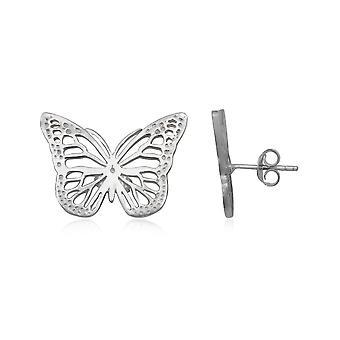 925 Silver butterfly earrings