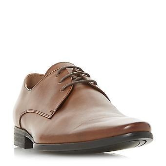 Dune Mens PETROV Gibson Lace-Up Shoe in Tan