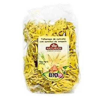 Natursoy Turmeric noodle and poppy seeds 250 g (Dieet , Voederen , Bio , Pasta and rice)