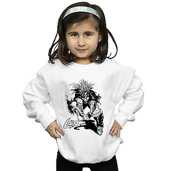 DC Comics Girls Lobo Skizze Sweatshirt