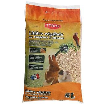 Tyrol Plant Litter Bird/Rodent 5L (Small pets , Bedding)