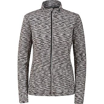 Overtreding Womens/dames Indira Full Zip lange mouwen Wicking actieve Top