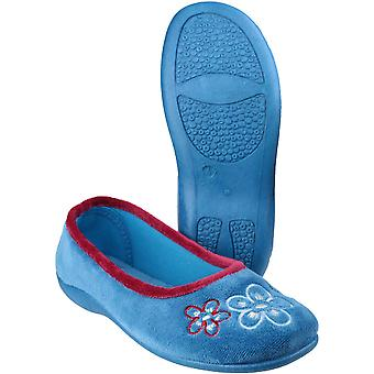 Mirak Womens/Ladies Arles Soft Comfortable Textile Padded Slippers