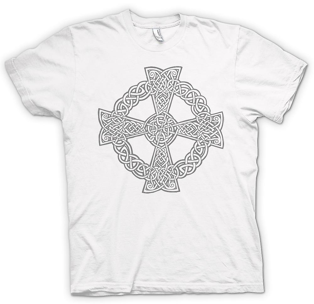 Womens T-shirt - Celtic Cross 1 - Tattoo Design