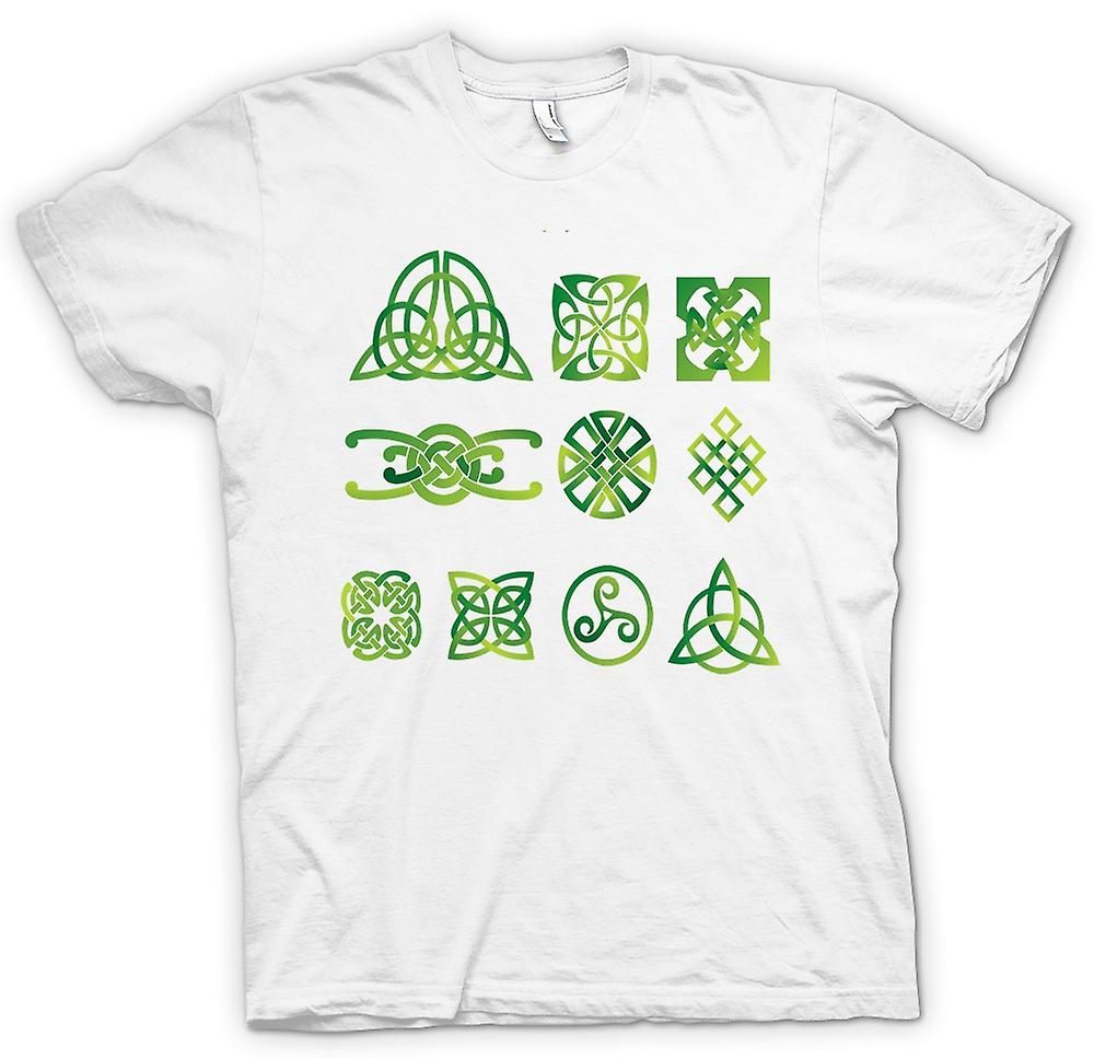 Mens T-shirt - Celtic Tribal Tattoo Designs