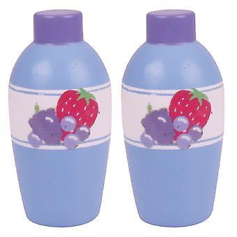 Bigjigs speelgoed Fruit Smoothie (Pack van 2)