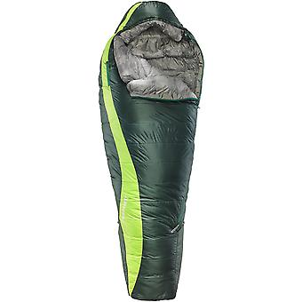 THERMAREST CENTARI WINTER SYNTHETIC SLEEPING BAG LEFT ZIP GREEN NEBULA