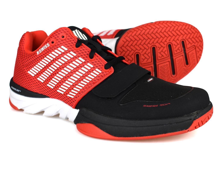 K-Swiss X Court Red / Black Mens Trainers
