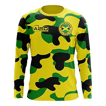2018-2019 Jamaika Wohnkonzept Fußball Langarmshirt (Kids)