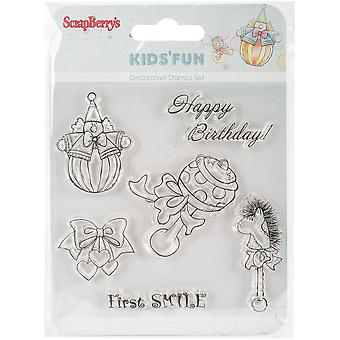 Scrapberry's Kids' Fun Clear Stamps 4