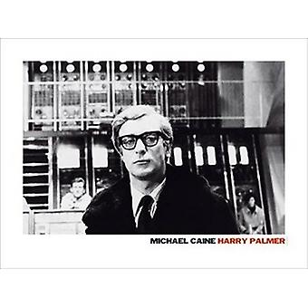 Michael Caine Harry Palmer Poster drucken (32 x 24)