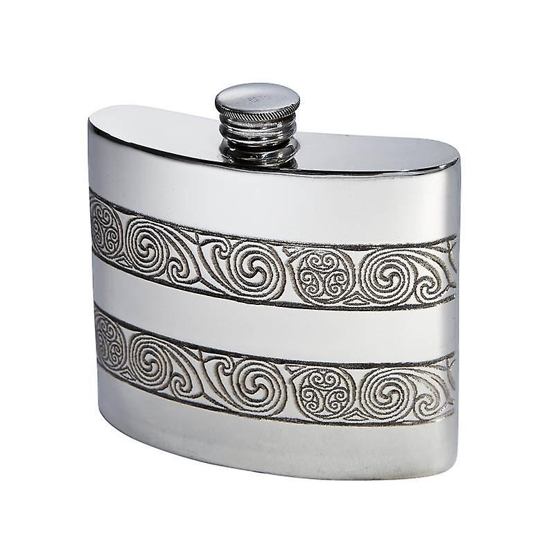 Standard Kells Enfantney Pewter Flask - 6oz