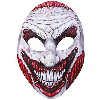 Horror masken revet øyne og munn Halloween horror Monster