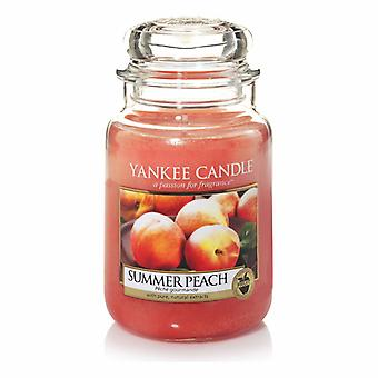 Yankee Candle Large Jar Candle Summer Classic Peach 623g