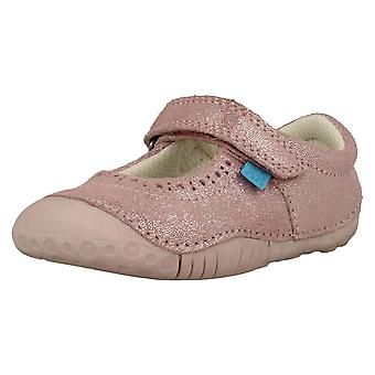 Girls Startrite Casual Shoes Cruise - Pink Nubuck - UK Size 3F - EU Size 19 - US Size 4