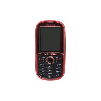 Pack de 5 - 2 pièces composant logiciel enfichable sur le cas pour Samsung U450 intensité, rouge