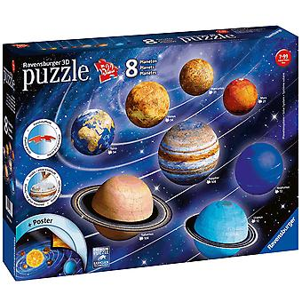 Ravensburger Planetery Solar System 3D puslespil
