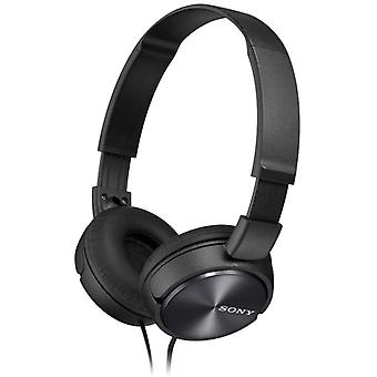 Sony MDRZX310BQ Lightweight Folding Stereo Headphone - Metallic Black
