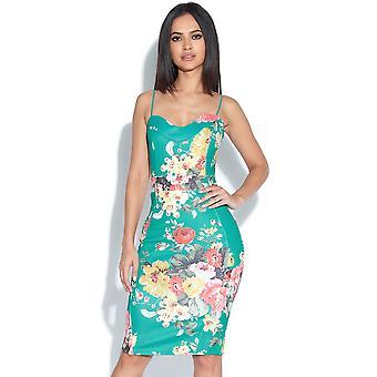 Helt tropiske Bodycon kjole