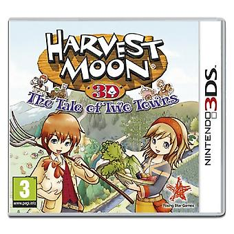 Harvest Moon The Tale Of Two Towns (Nintendo 3DS)