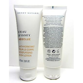 3 x hydraterende bodylotion van Issey Miyake, L'Eau D'Issey Absolue 3 x 75ml