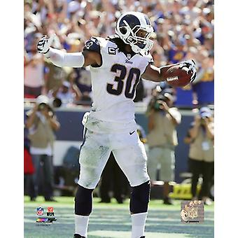 Todd Gurley 2018 Action Photo Print