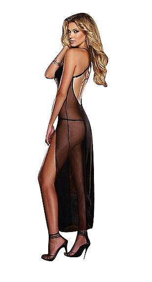 Waooh - Lingerie - Long transparent nightie