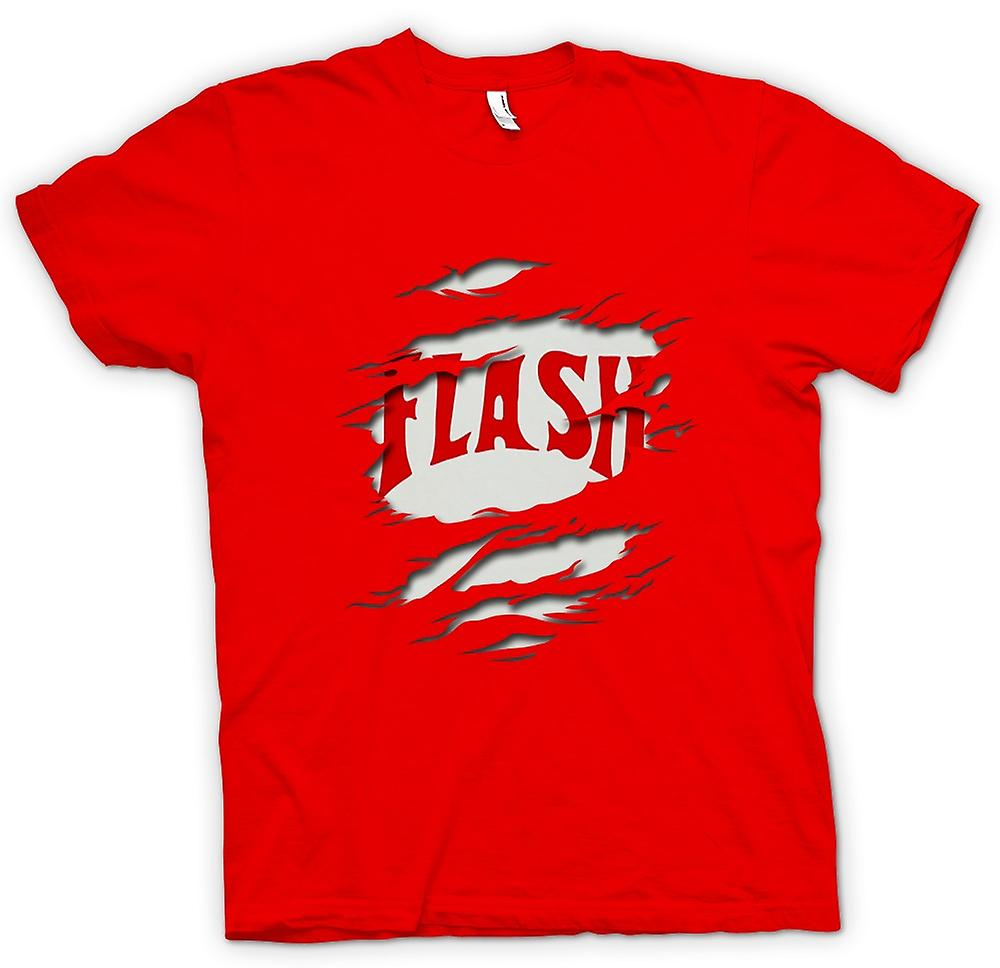 Mens T-shirt - Flash Gordon - Effekt Riss