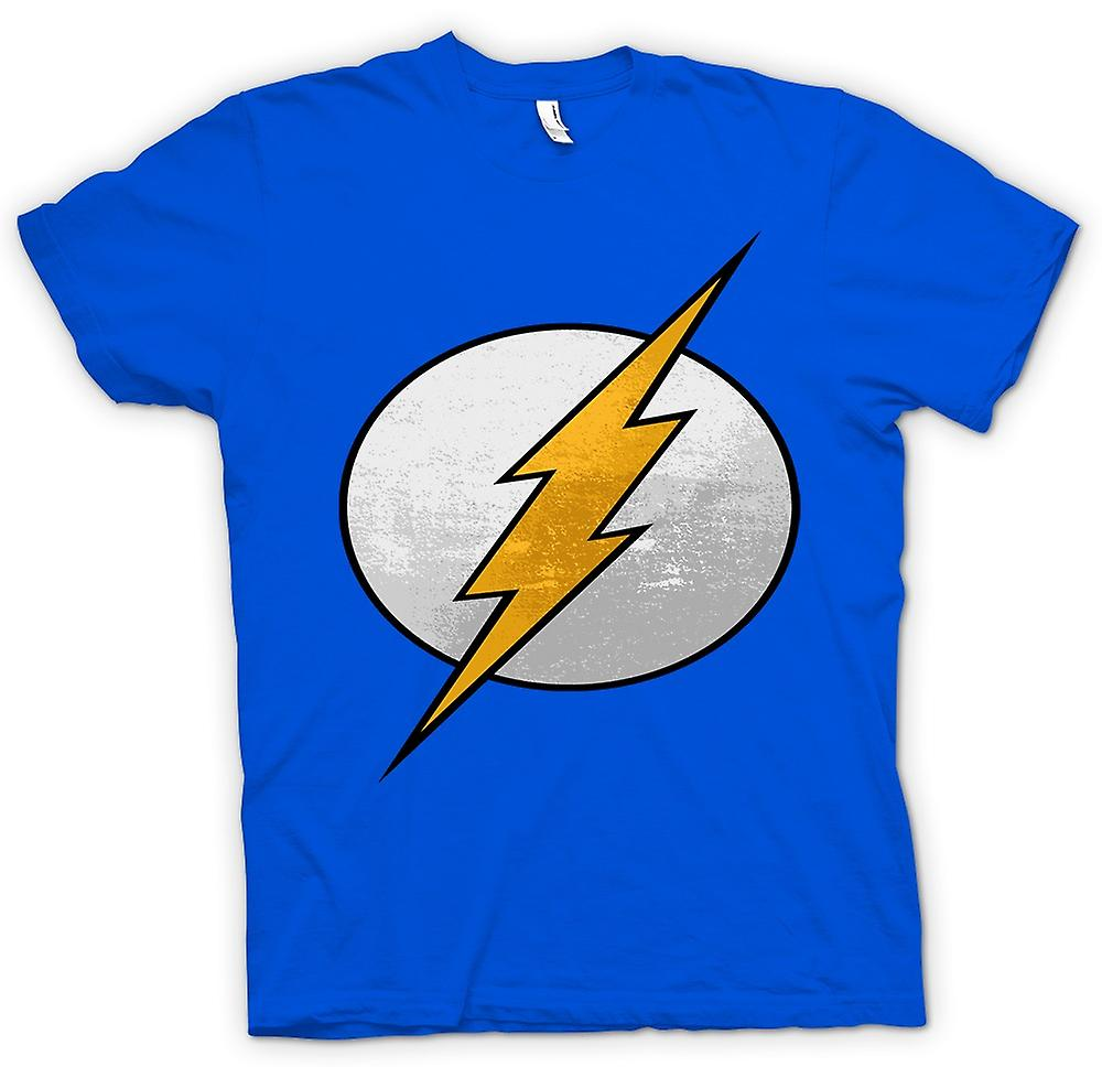 Cool mens t-shirt - el logotipo de Flash-