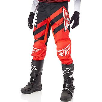 Fly Racing Red-Black 2018 F-16 MX Pant