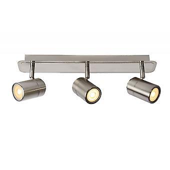 Lucide Lennert Modern metall Satin Chrome Spot taklampa