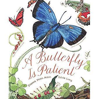 Ein Schmetterling ist geduldig