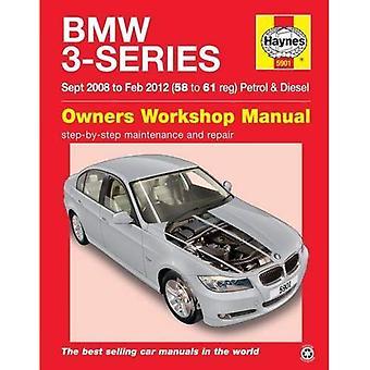 BMW 3-Series Petrol & Diesel Owners Workshop Manual: 08-12