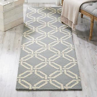LIN08 lineal luz rectángulo azul alfombras alfombras modernas