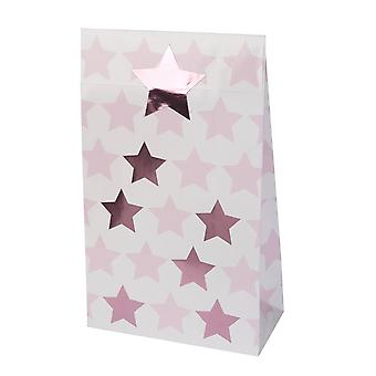 Little Star Pink - Party Bags - 5 Pack