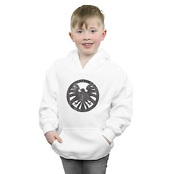 Marvel Boys Agents Of SHIELD Distressed Logo Hoodie
