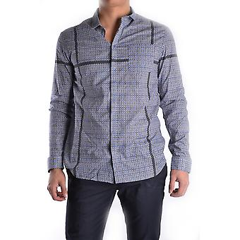 Balmain Grey Cotton Shirt