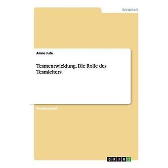 Teamentwicklung. Rolle des Teamleiters von Jule & Anne sterben
