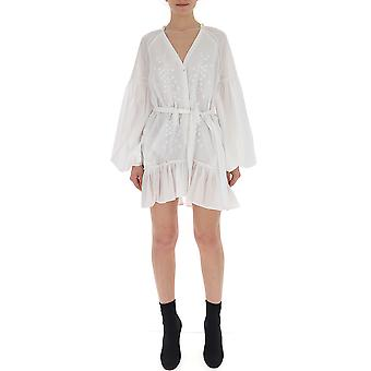 Wandering White Cotton Dress